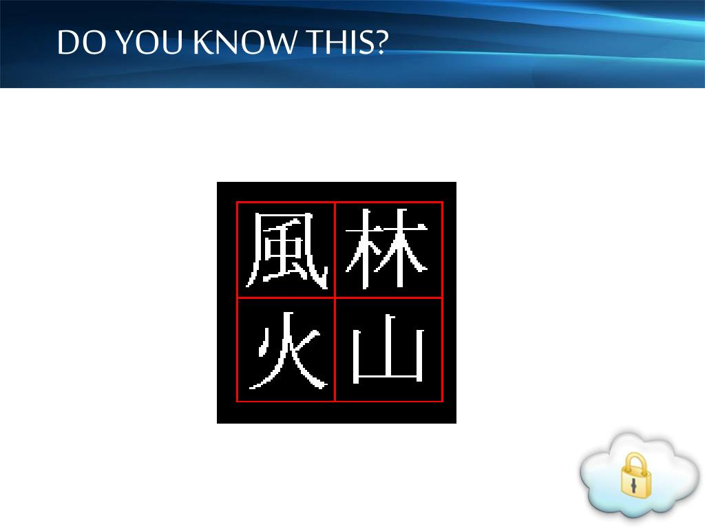 DO YOU KNOW THIS?