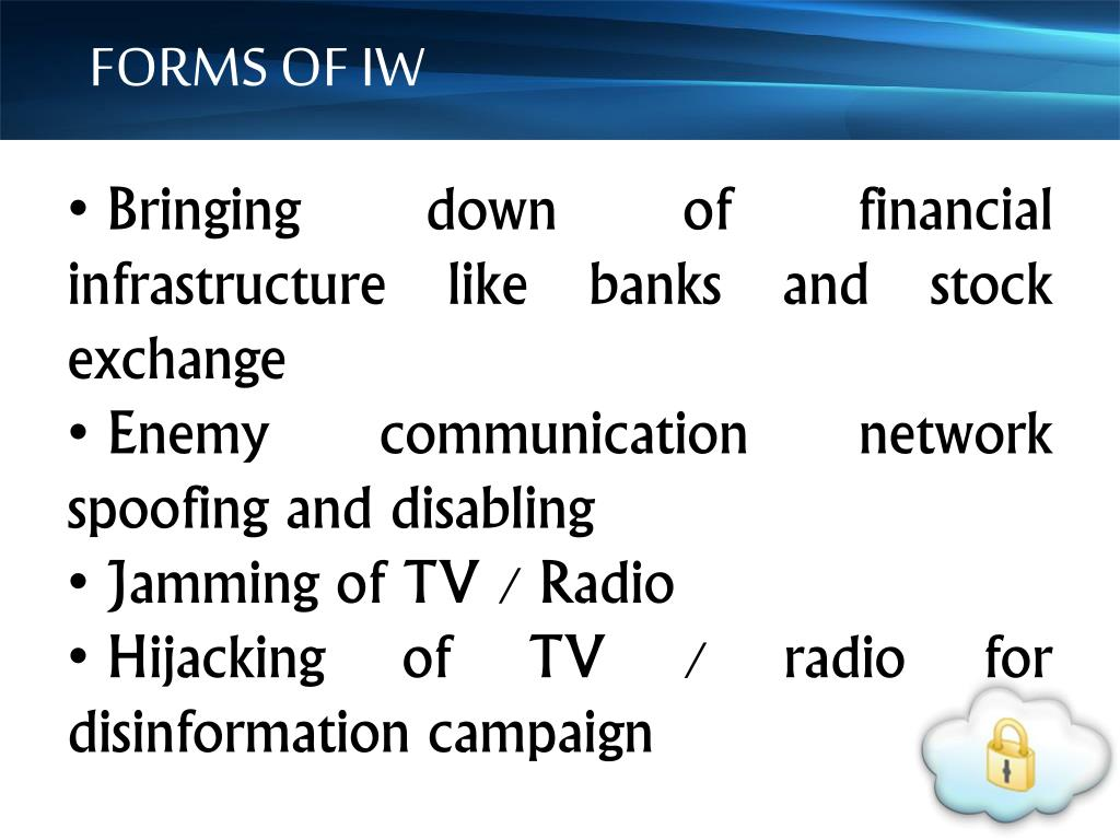 FORMS OF IW