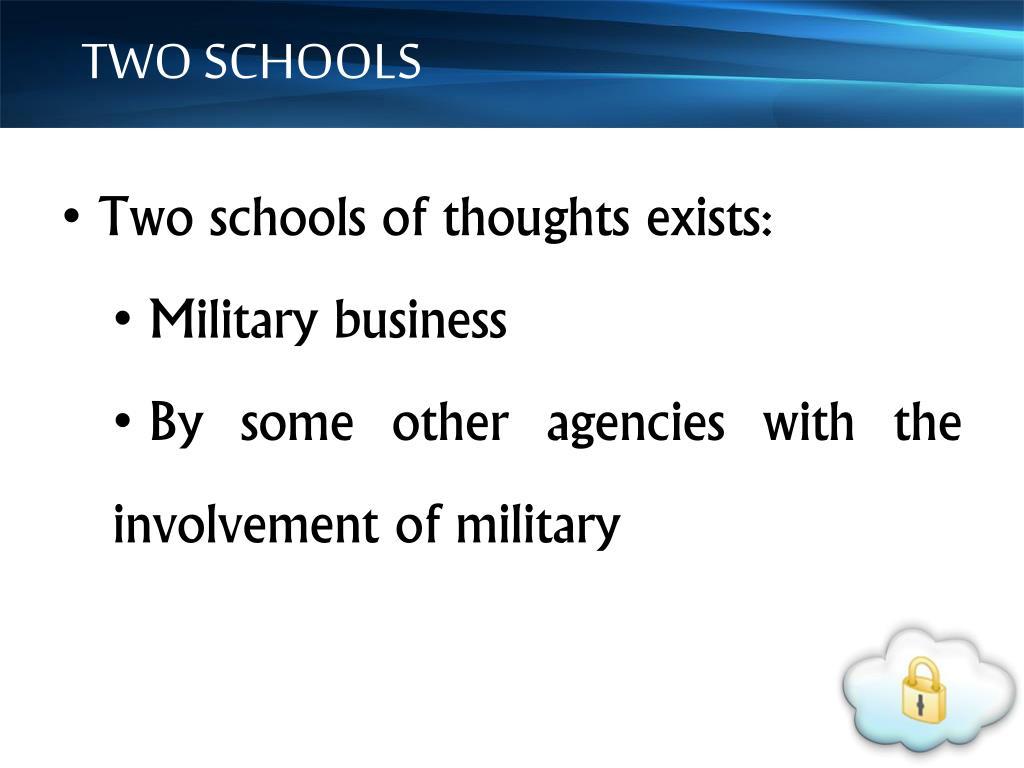 TWO SCHOOLS