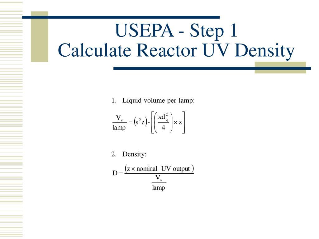 USEPA - Step 1