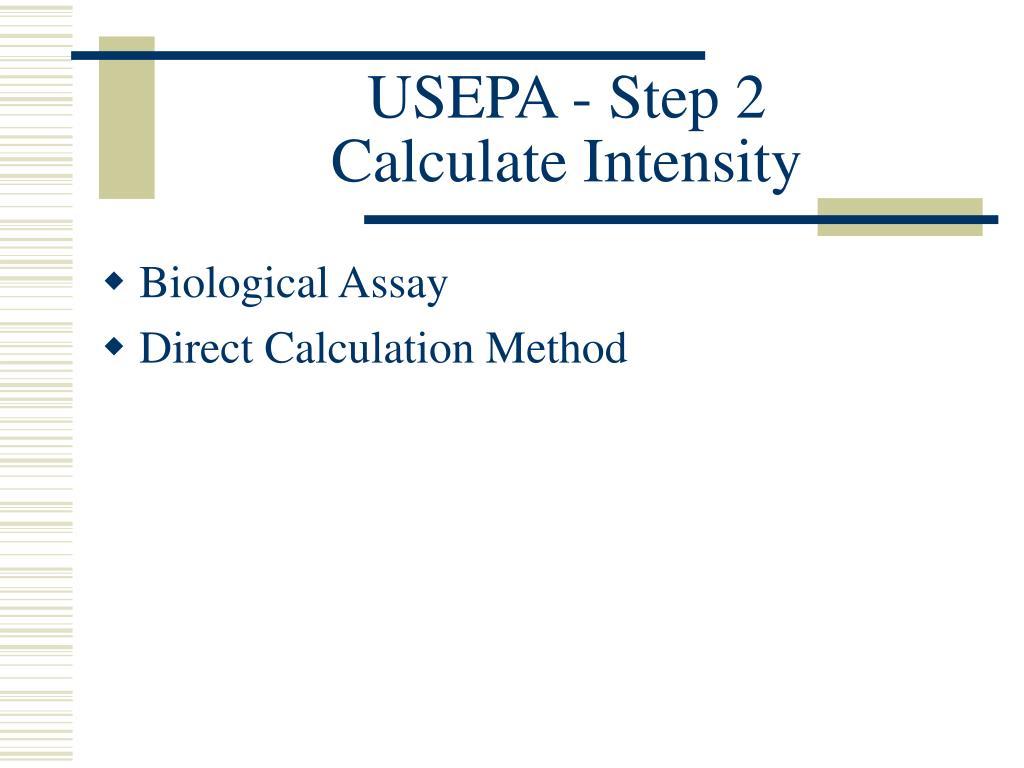 USEPA - Step 2