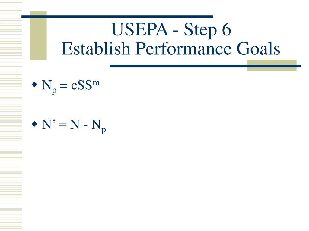USEPA - Step 6