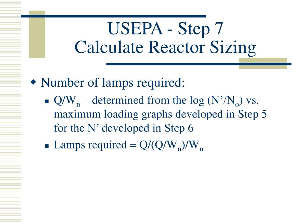 USEPA - Step 7
