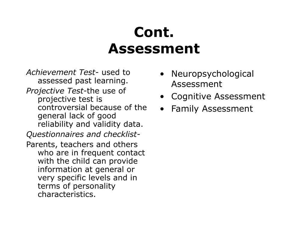 Achievement Test-