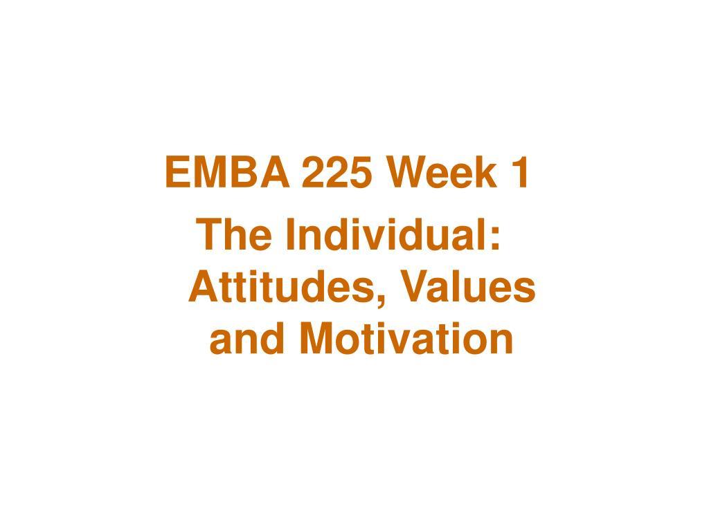 EMBA 225 Week 1