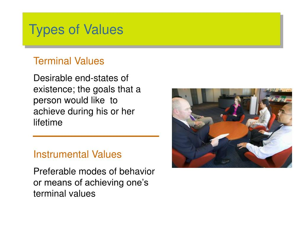 Types of Values
