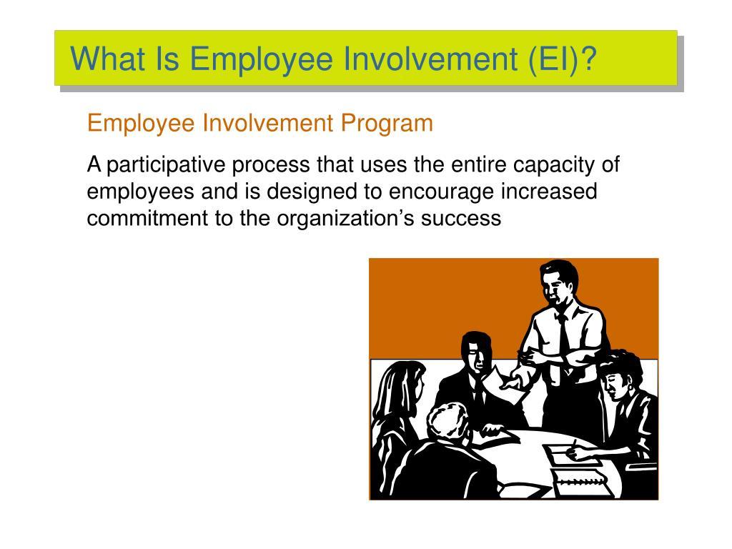 What Is Employee Involvement (EI)?
