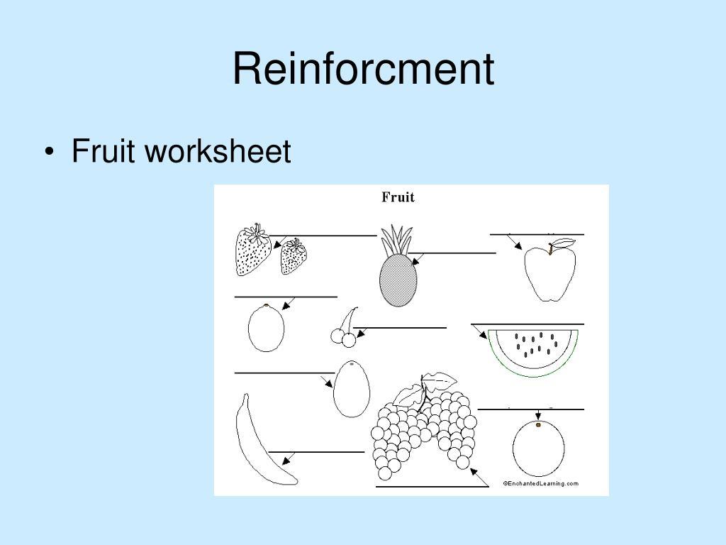 Reinforcment