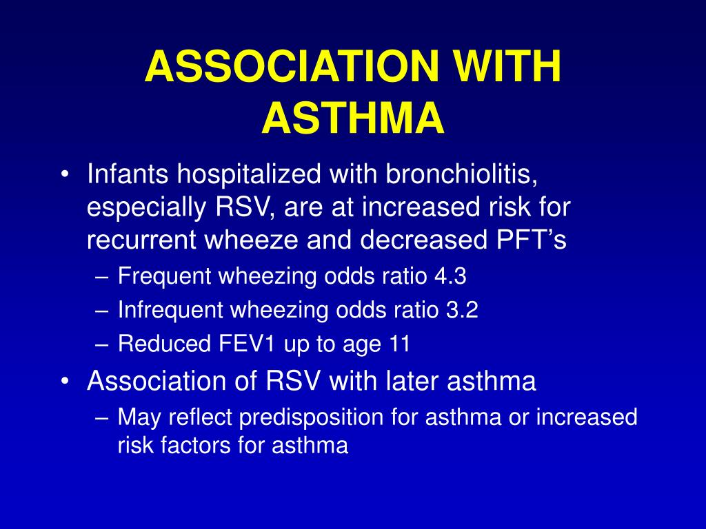 ASSOCIATION WITH ASTHMA