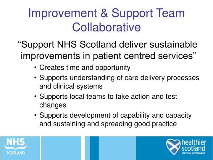 Improvement & Support Team Collaborative