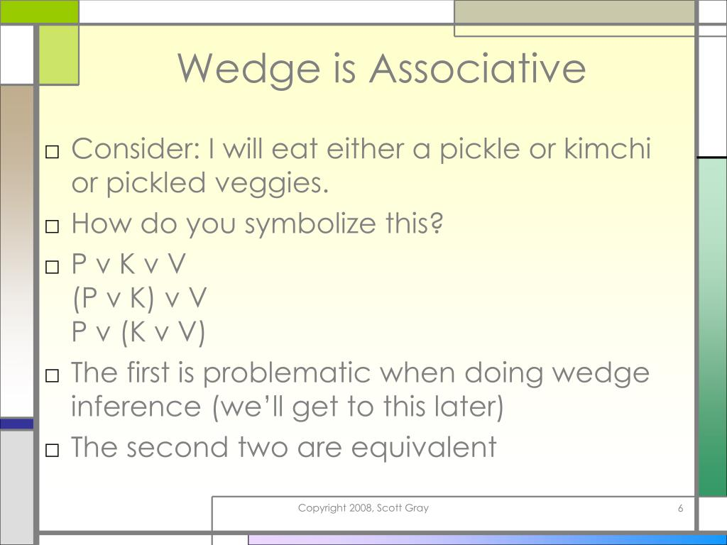 Wedge is Associative