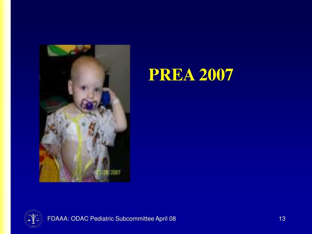 PREA 2007