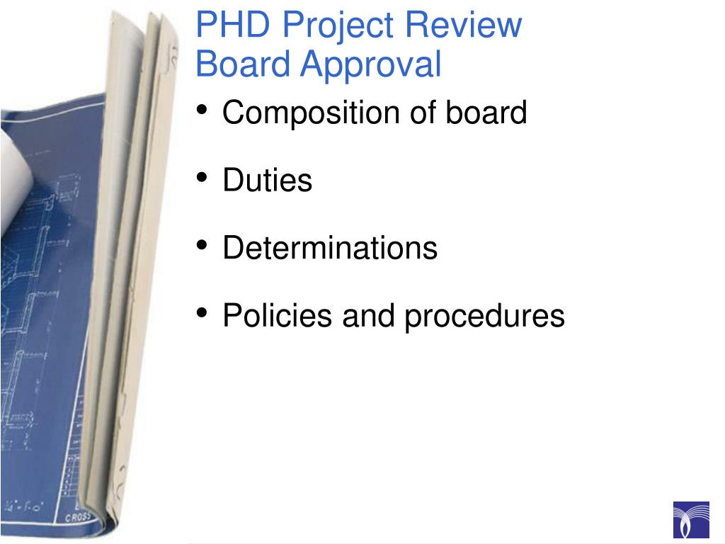 PHD Project Review