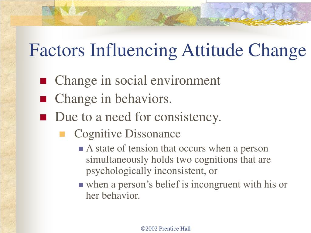 A change in attitude part 3