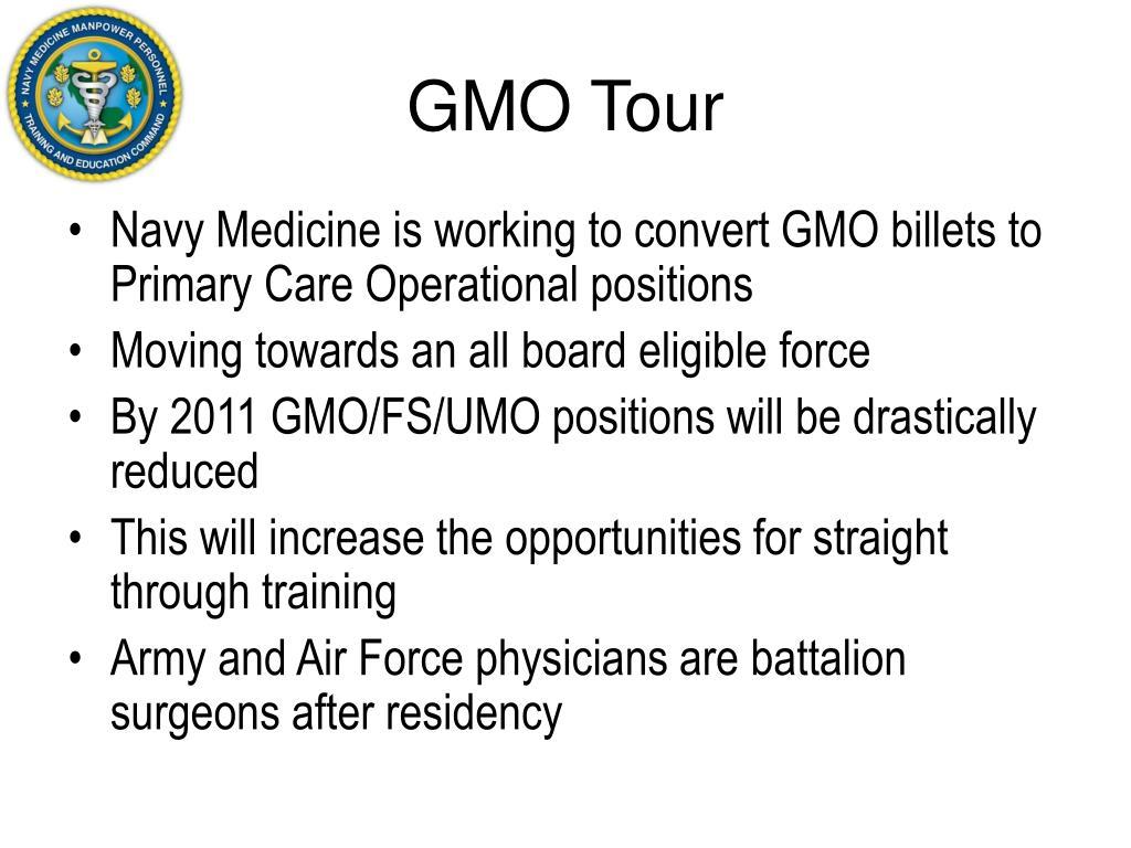 GMO Tour