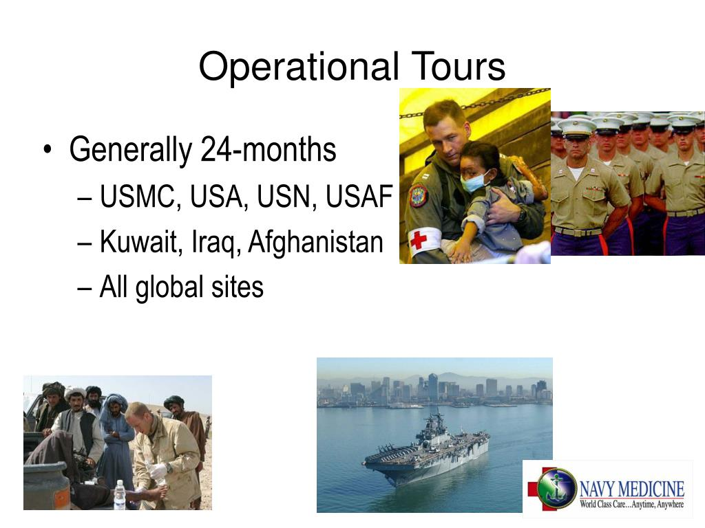Operational Tours