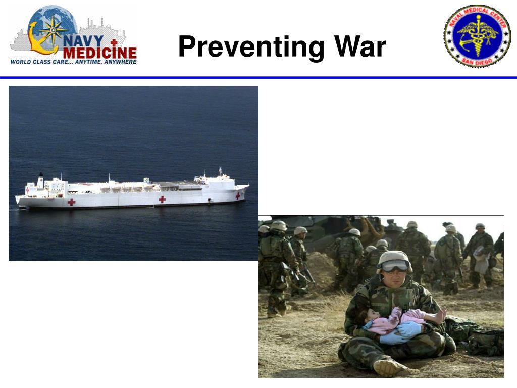 Preventing War