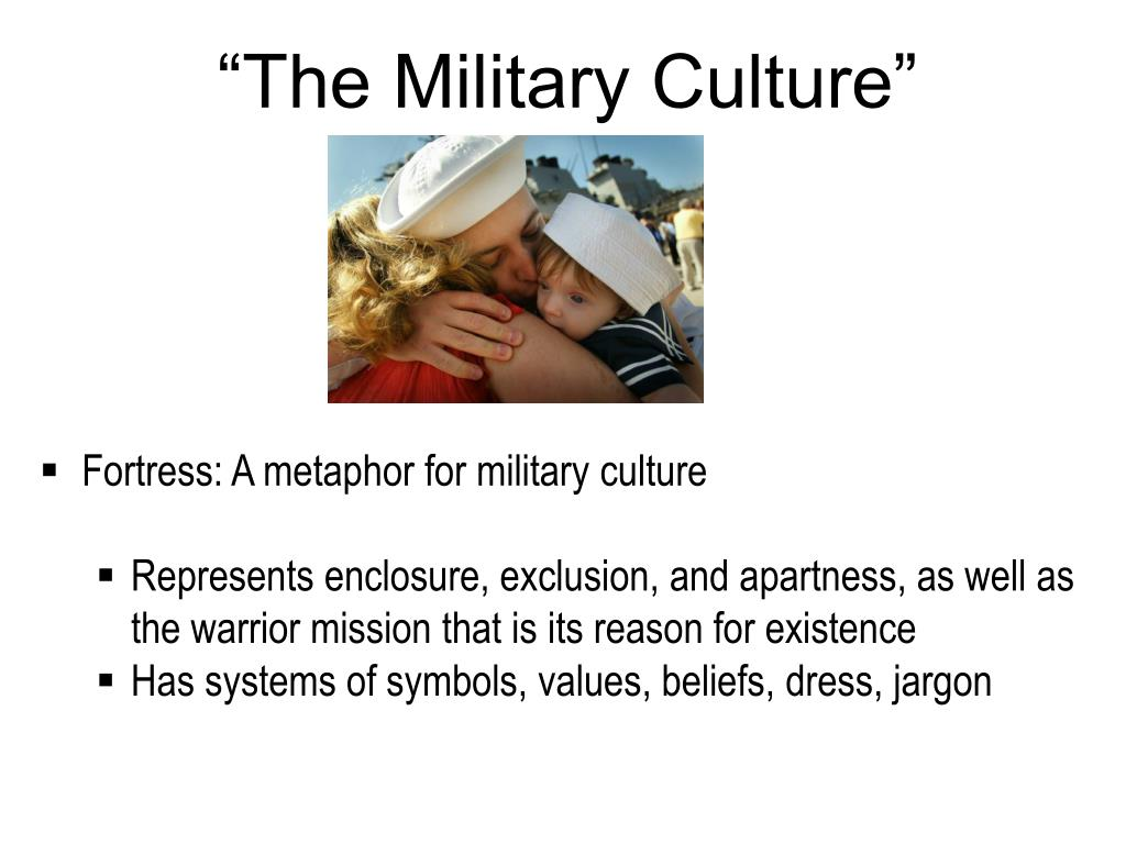 """""""The Military Culture"""""""