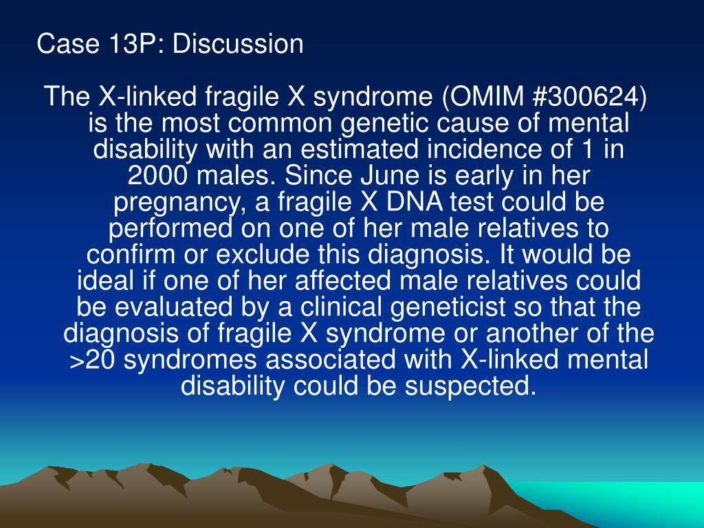 Case 13P: Discussion