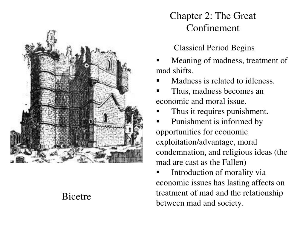 Chapter 2: The Great Confinement