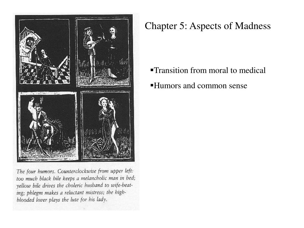 Chapter 5: Aspects of Madness