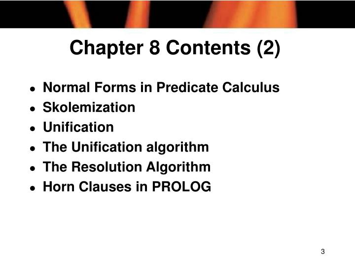 Chapter 8 contents 2