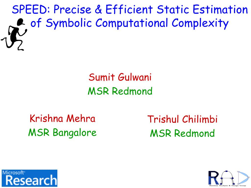 SPEED: Precise & Efficient Static Estimation of Symbolic Computational Complexity