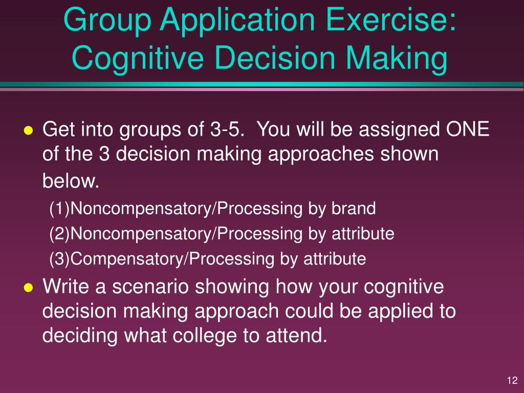 decision making reflection exercise Discernment and decision making  how do we exercise good judgment in the process of decision making, whether as individuals or as groups  reflection (which is .