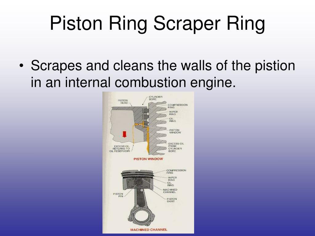 Piston Ring Scraper Ring