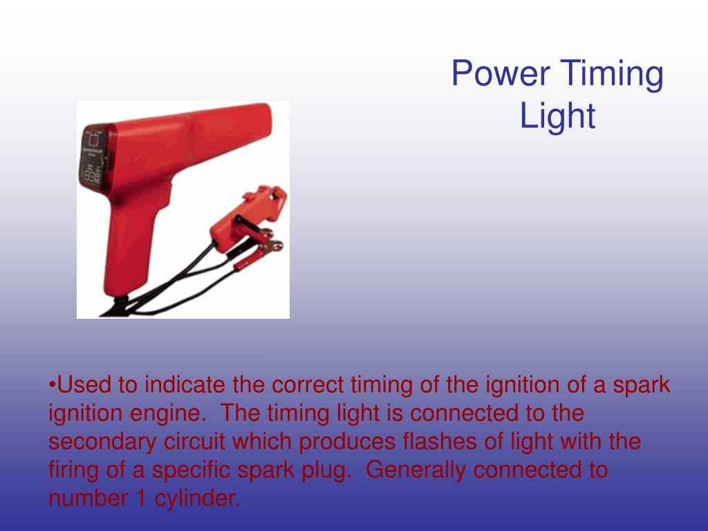 Power Timing Light