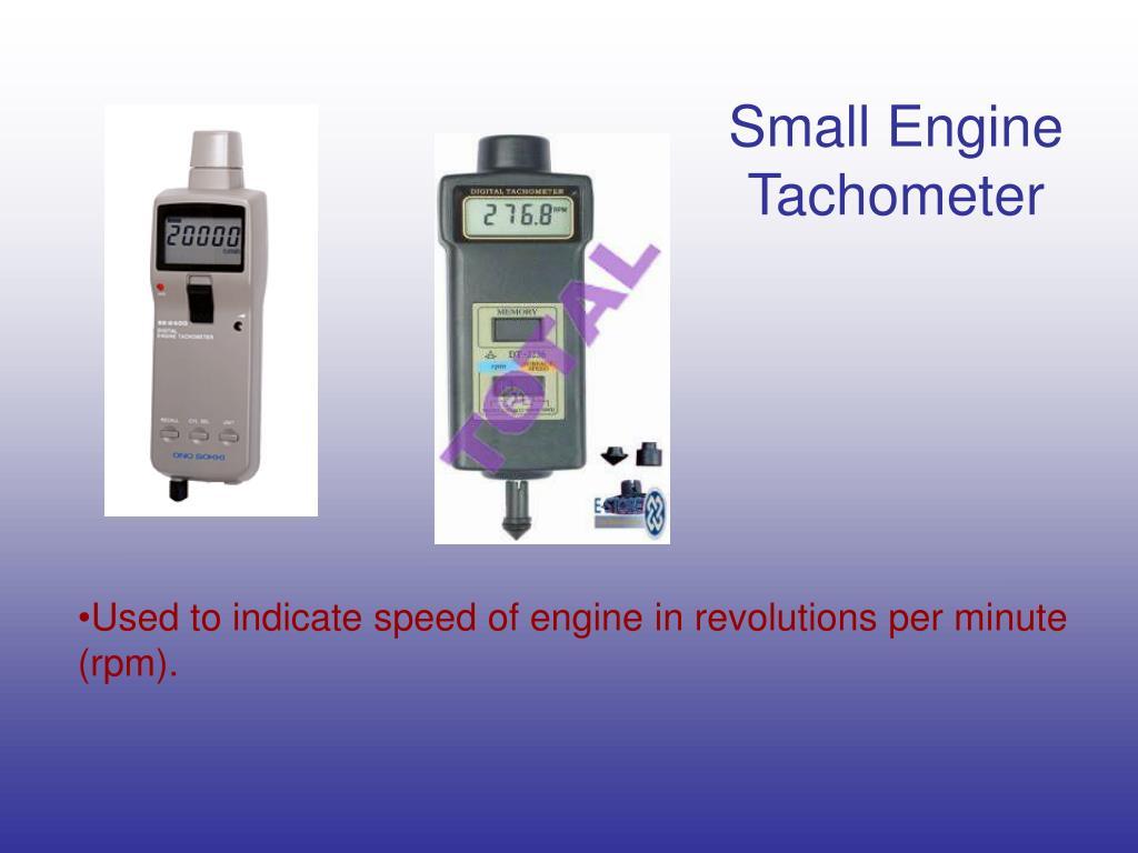 Small Engine Tachometer