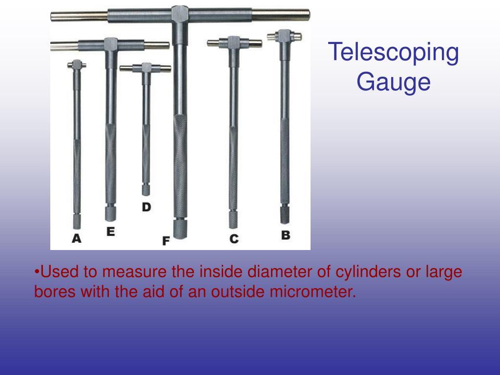 Telescoping Gauge