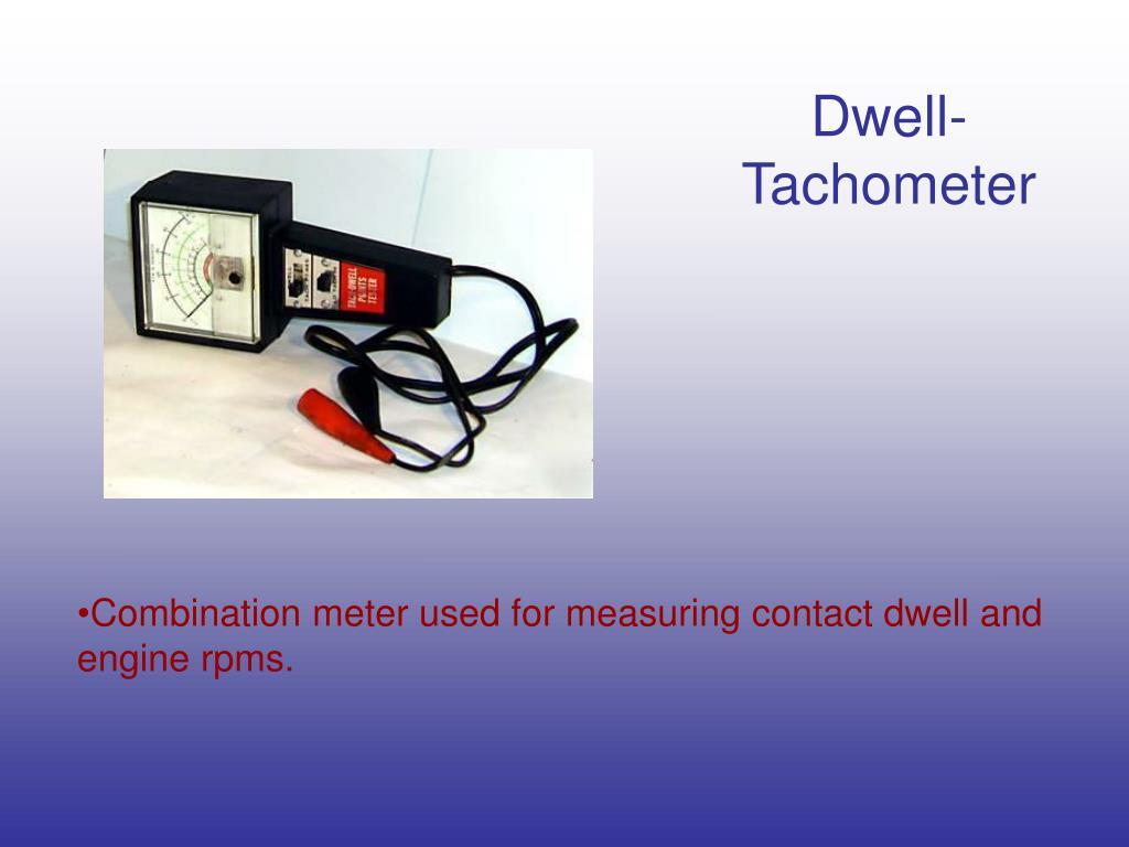 Dwell-Tachometer