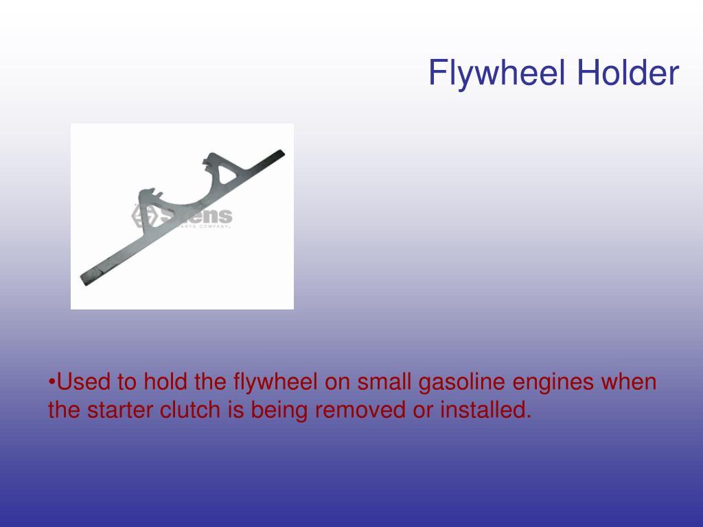 Flywheel Holder