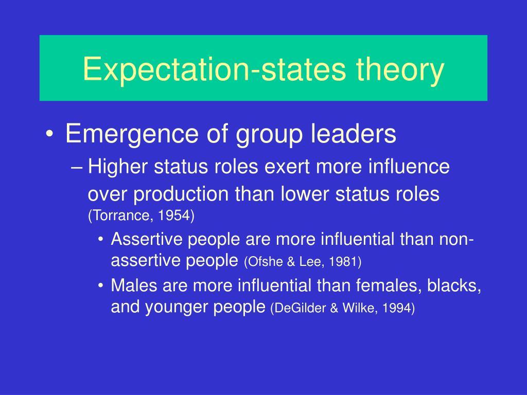 Expectation-states theory
