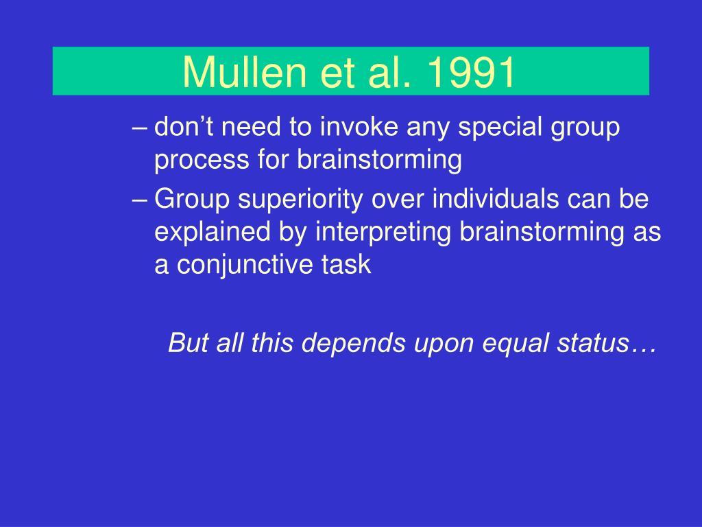 Mullen et al. 1991