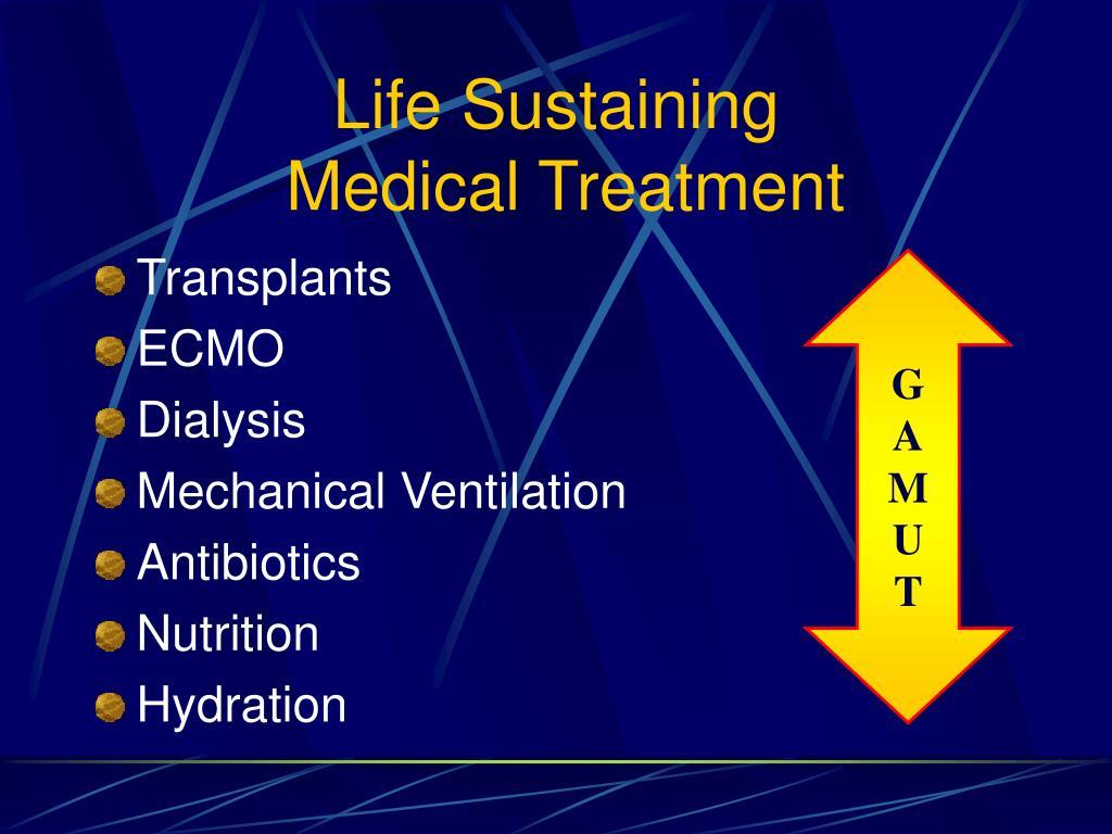 Life Sustaining