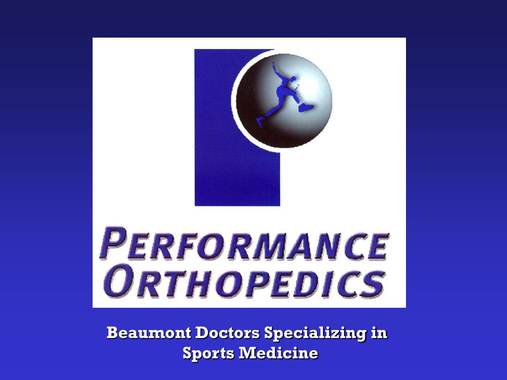 Beaumont Doctors Specializing in