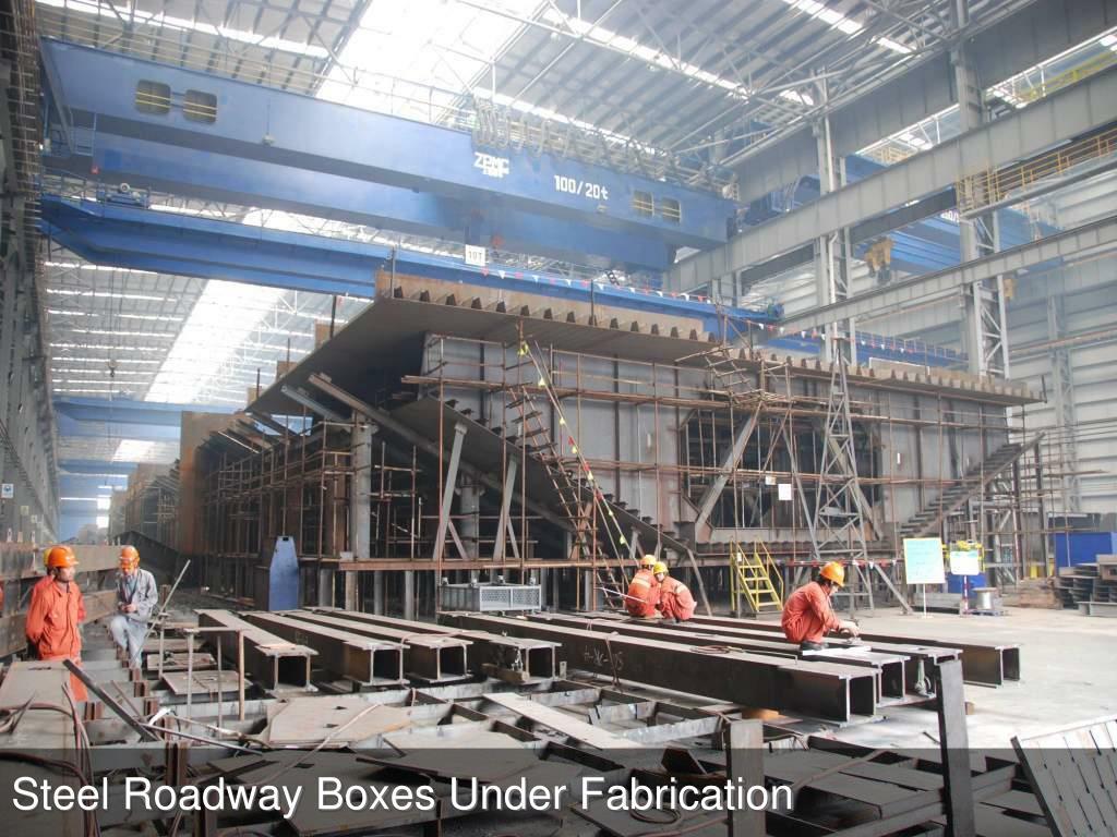 Roadway Deck Fabrication Shop