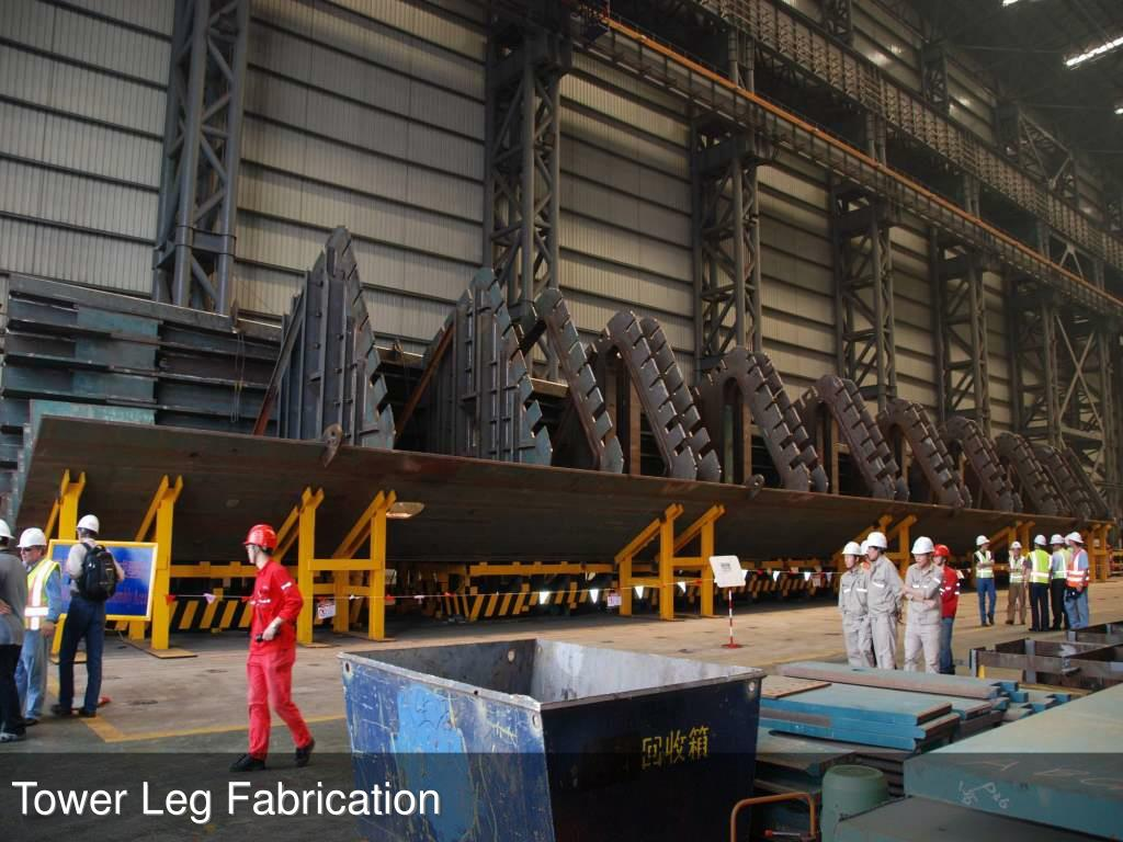 Tower Leg Fabrication