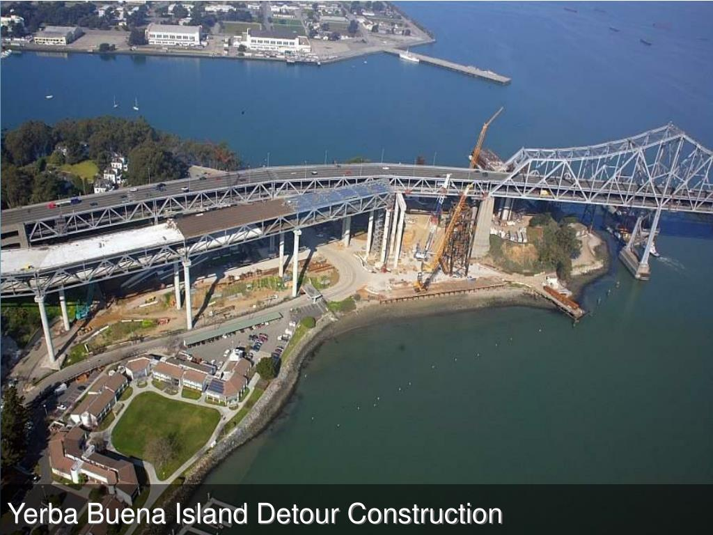 Yerba Buena Island Detour Construction