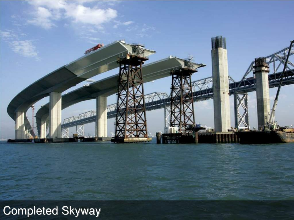 Completed Skyway