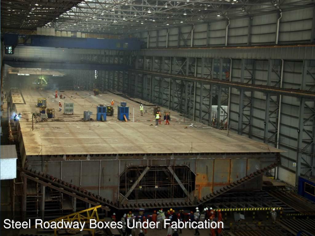 Steel Roadway Decks