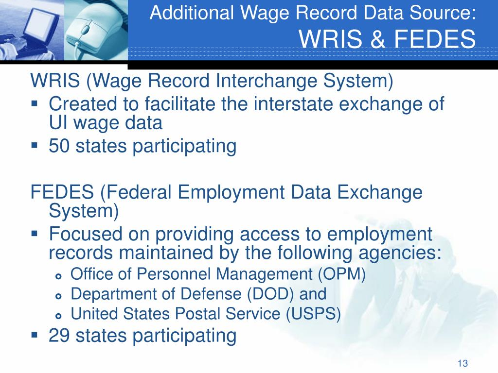 Additional Wage Record Data Source: