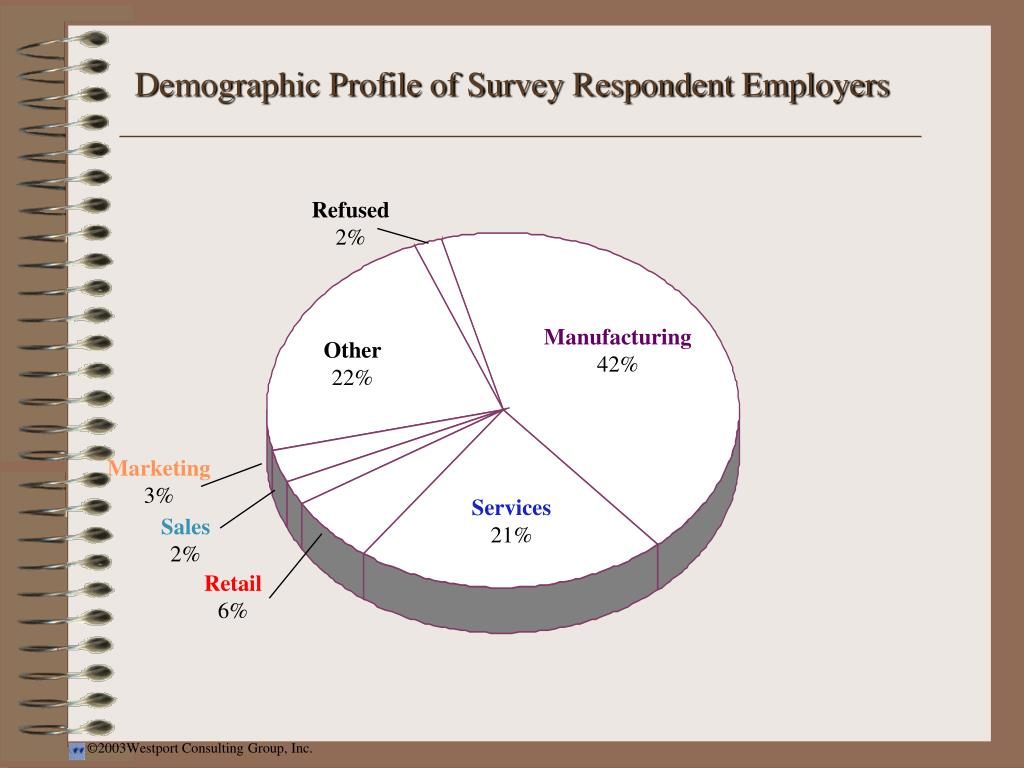 Demographic Profile of Survey Respondent Employers