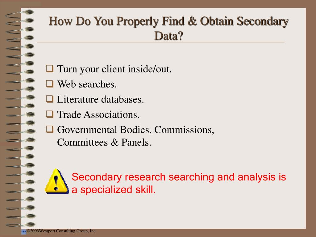 How Do You Properly Find & Obtain Secondary Data?