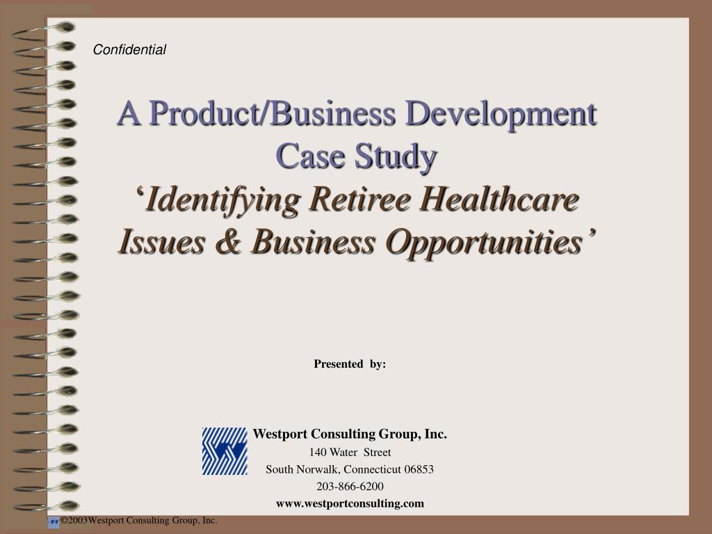 A Product/Business Development Case Study