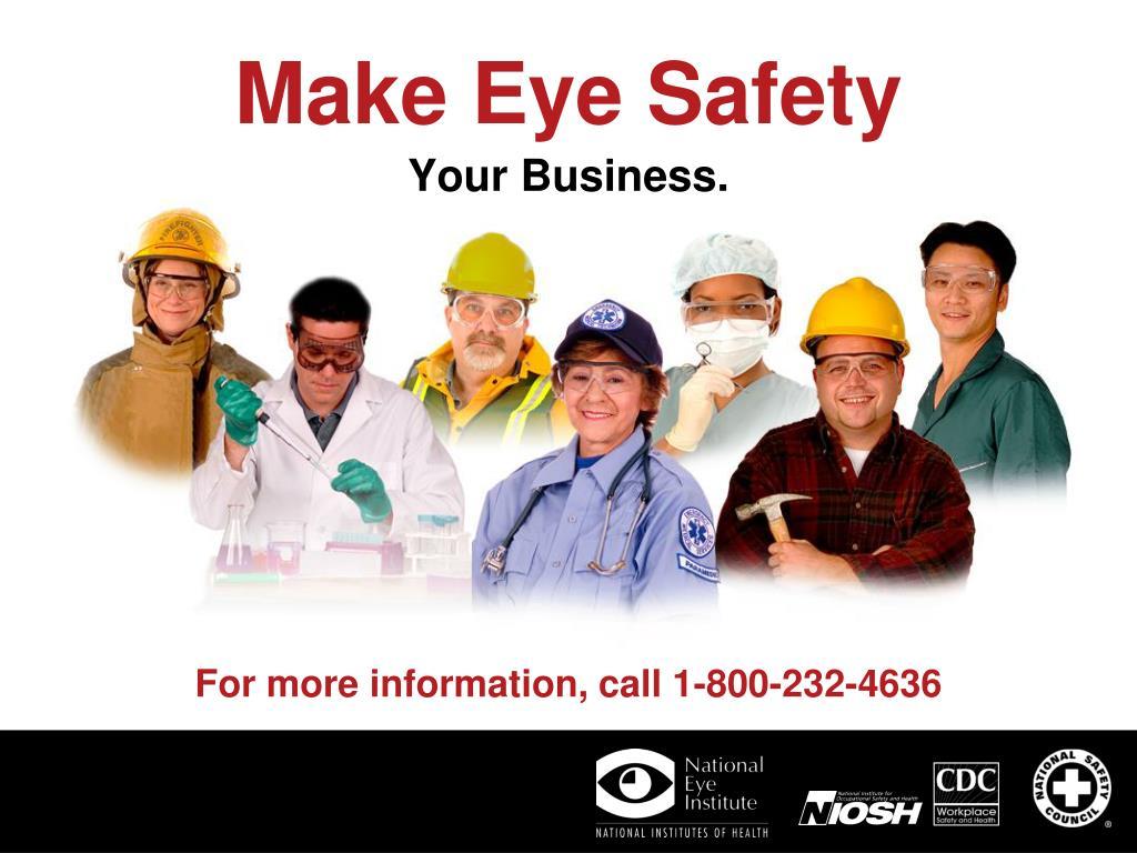 Make Eye Safety