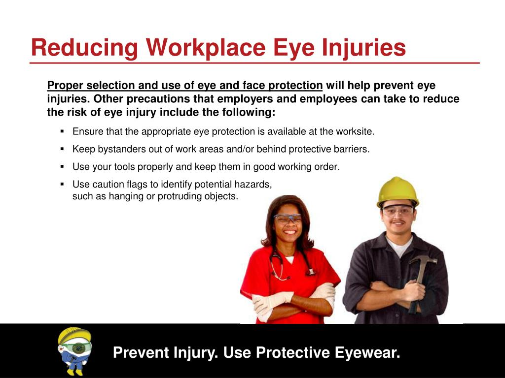 Reducing Workplace Eye Injuries