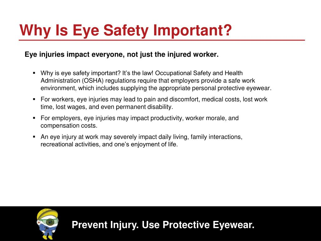 Why Is Eye Safety Important?